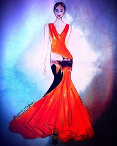 🔥❤️🔥#fashionillustration #fashionsketch #instafashion #instapic #likeforlike…