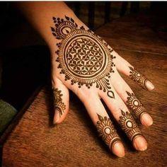 20+ Stylish Mehndi Designs For Durga Puja – Navratri Mehndi Designs