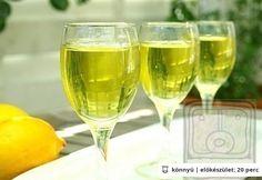 Limoncello házilag