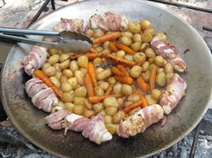 Bacon, Grilling, Vegetables, Food, Crickets, Essen, Vegetable Recipes, Meals, Yemek