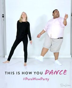 Holiday Parties are coming. Learn how to dance with @PureWow. #PureWowParty