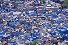 panorama view of Jodhpur, Rajasthan  ** Blue City, Sun City of INDIA **  @ http://ijiya.com/8237140