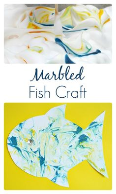 Fish Art For Kids Marbled Fish Art For Kids Create Beautiful Art For Kids With This Fun Process Art Activity Using Shaving Cream We Made Tropical Fish But You Could Create Whatever You Choose Marbled Fish Craft And Sensory Art For Preschoolers Fish Crafts Preschool, Sea Crafts, Beach Theme Preschool, Plate Crafts, Ocean Activities, Fun Activities For Toddlers, Autumn Activities, Projects For Kids, Art Projects