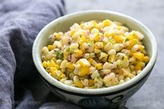 Best corn salsa ever! Better than Chipotle. Easy to make and totally addictive. On SimplyRecipes.com