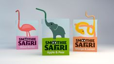 Luke Thompson Graphic Design • Work • Smoothie Safari