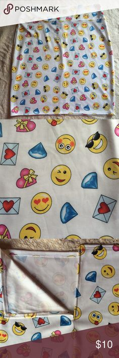 Emoji Skirt We  this one!  Fun print. Stretchy fabric. Lightweight. Ladies, this is a thinner fabric so proper undergarment will be needed. Just a heads up.  Skirts