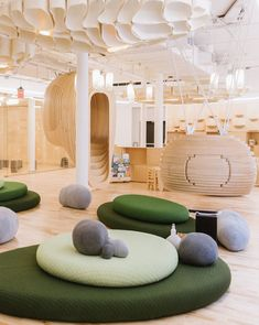 Playroom Design Ideas Visit www.the-fairytale. and get more kids playroom inspirations Kindergarten Interior, Kindergarten Design, Hospital Design, Playroom Design, School Furniture, Interior Decorating, Interior Design, Kid Spaces, Office Interiors