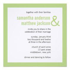 Wedding invitation simple elegant is a good layout ideas for divine modern heart ampersand wedding invitation stopboris Images