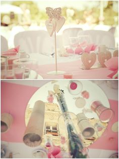Pink wedding decorations  | Image by Stephenson Imagery