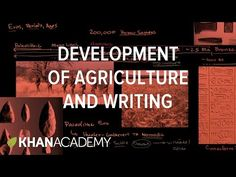 Development of agriculture and writing | Humanity on earth | Life on earth and in the universe | Cosmology and astronomy | Khan Academy
