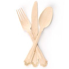 fancy eco-friendly disposable utensils