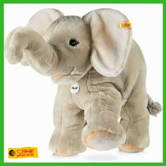 Did you know elephants can live up to 70 years old!? #wildlifewednesday #steiff #elephant