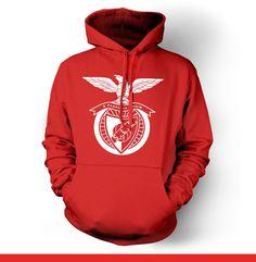 SL Benfica Lisboa Portugal Hoody Sweatshirt