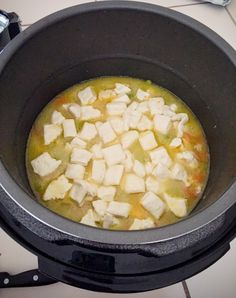 Quick and Easy Pressure Cooker Chicken Pot Pie Recipe! Cook chicken pot pie directly in your pressure cooker for a delicious, homemade dinner.