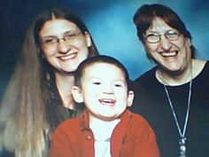 three generation picture ;) mary, daniel and i:)
