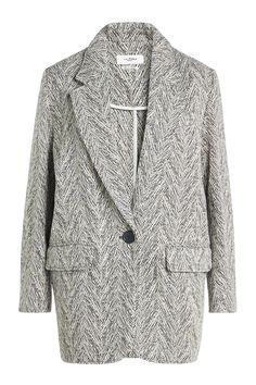 #STYLEBOP.com (FR/NL/IT) - #Isabel Marant Étoile Isabel Marant Étoile Floyd Jacket with Wool and Linen - AdoreWe.com