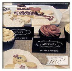 Minicarpitas para la mesa dulce.  hola@invita-me.com.ar