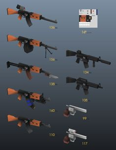 low poly gatling gun - Google zoeken