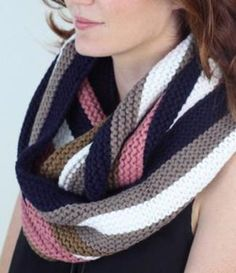 Reminiscent of favorite old-timey treats, this striped scarf is destined to be another timeless classic. The super soft fabric will keep you cozy anytime winter winds are blowing! www.mooreaseal.com