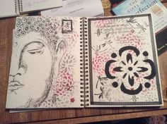Spiritual Budda and haiku.  By MIki