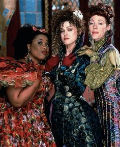 Natalie Desselle, Bernadette Peters, and Veanne Cox in Rodgers and Hammerstein's Cinderella