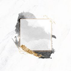 Gold square frame on black watercolor background vector premium image by Aum sasi Gold Glitter Background, Flower Background Wallpaper, Flower Backgrounds, Watercolor Background, Wallpaper Backgrounds, Gold Watercolor, Wallpapers, Vintage Backgrounds, Frame Background