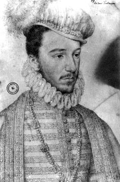 Duke of Anjou, a suitor of Elizabeth I.  He was the youngest child of Catherine de Midici.    http://tudorhistory.org/people/alencon/alencon.jpg