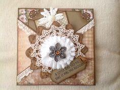 Handmade Crisscross Card #5