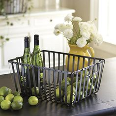 Metal Train Basket by Ballard Designs