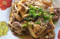 "NHK WORLD TV | Your Japanese Kitchen | <span style=""font-style: italic;"">Tofu</span> Steak with Mushroom Sauce"