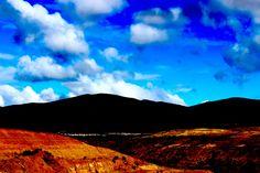 hard blue. by: monsenos bastet cortes  #sky #cloud #fotomia #nature