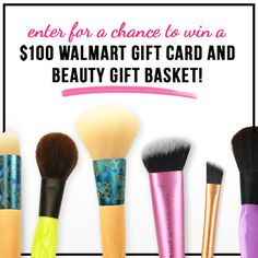 Enter the #BeautifulYouWM sweepstakes for a chance to win a beauty gift basket from Walmart!