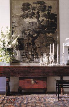 Mmmmmm (the adventures of tartanscot™ Michael Smith) Flur Design, Home Design, Design Hotel, Design Design, Design Ideas, Foyer Decorating, Interior Decorating, Decorating Ideas, Beautiful Interiors