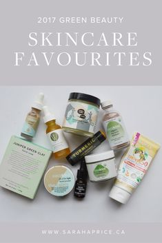 The 2017 Green Beauty Skincare Favourites | Green Beauty | Green Beauty Products | Natural Beauty | Natural Beauty Products | Beauty Tips | Skincare Tips | Skincare |
