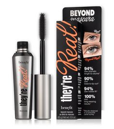 "6. <a href=""https://www.benefitcosmetics.com/uk/en-gb/product/theyre-real-lengthening-mascara"" target=""_blank"">Benefit ""They're Real! Mascara""</a>, £19.50"