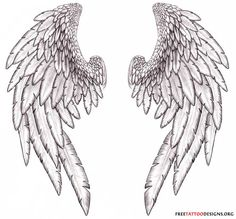 angel wings w/ a halo for my lost loved ones