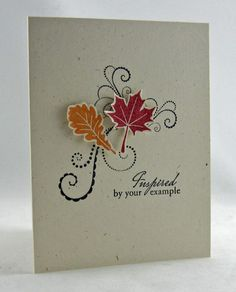 Create With Me: Blessed by You, Flourishes - Scallops and Dots - scrumptious card!