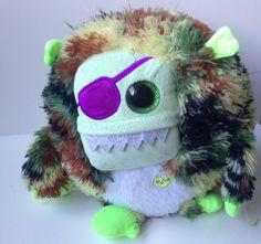 Een grommend en rinkelend monster van Ty: Patch. Nu zijn de batterijen gelukkig op... (J)