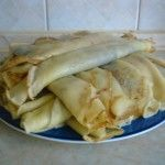 palacsinta***Recipe is in Hungarian- Memories, My Gram use to make these for my brother and me.