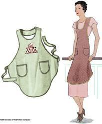 cute apron one yard of fabric!