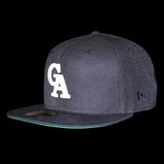 "Green Angle X New Era ""GA"" BB Cap 【NAVY】"