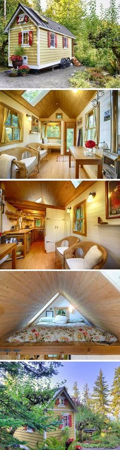 mytinyhousedirectory: Bright & Cozy Tiny House on the Bay in Olympia WA ...