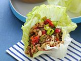 Picture of Asian Chicken Lettuce Cups Recipe