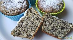 Mákos túrós muffin Vegan Vegetarian, Paleo, Hungarian Recipes, Hungarian Food, Diet Recipes, Muffins, Food And Drink, Low Carb, Sweets