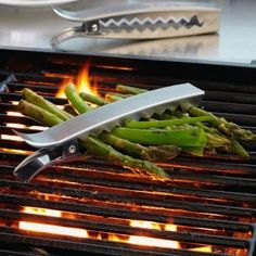 Grill clips - holds veggies together on the grill without the risk of them falling through the grates