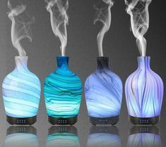 Color may be little different due to monitor. Glass Diffuser, Aroma Diffuser, Essential Oil Scents, Essential Oil Diffuser, Aromatherapy Humidifier, Aromatherapy Diffuser, Led, Oil Lamps, Colors