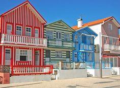 Costa Nova beach   Praia da Costa Nova #Portugal