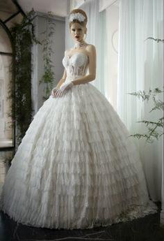 Hermosos vestidos de novia, el sueño de toda novia