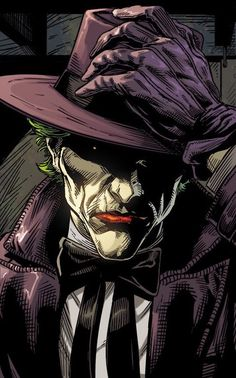 Le Joker Batman, Batman Joker Wallpaper, Bat Joker, Joker Dc Comics, Joker Wallpapers, Batman Comic Art, Joker Art, Dc Comics Art, Joker And Harley Quinn