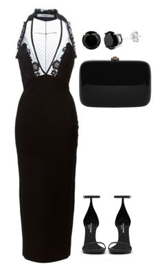 """n° 3256"" by marcellamic ❤ liked on Polyvore featuring Givenchy, Yves Saint Laurent and Rocio"